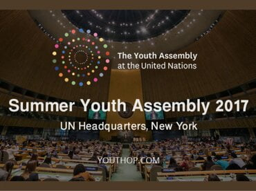 Participation in UN Youth Assembly