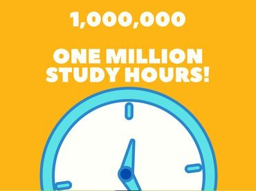1 million hours of study in SYA program with coursera