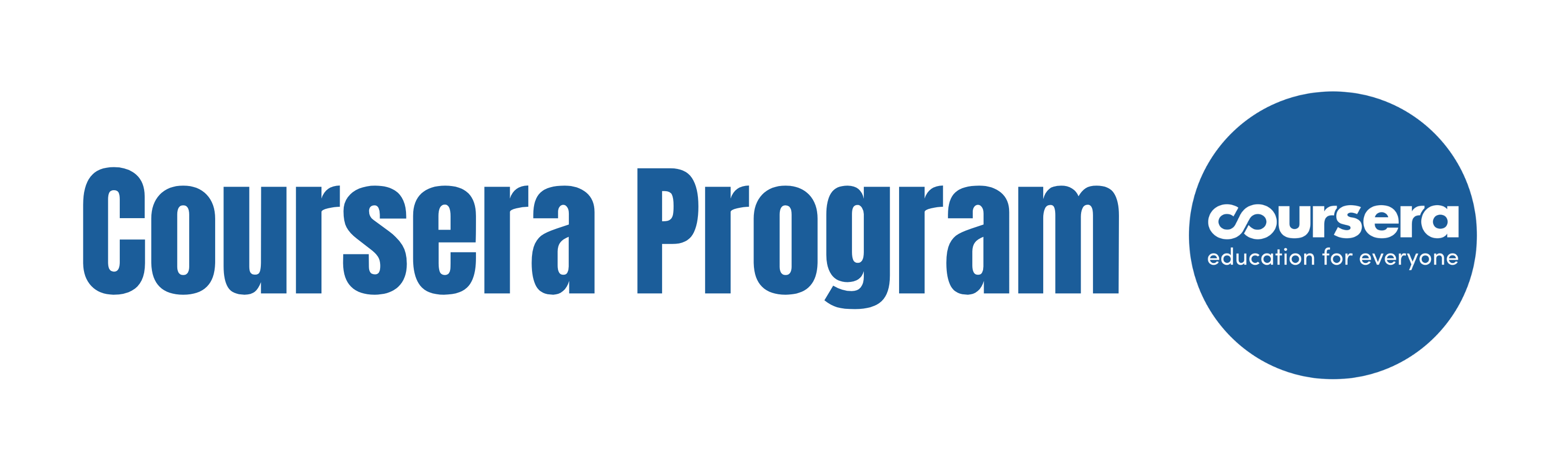 coursera program